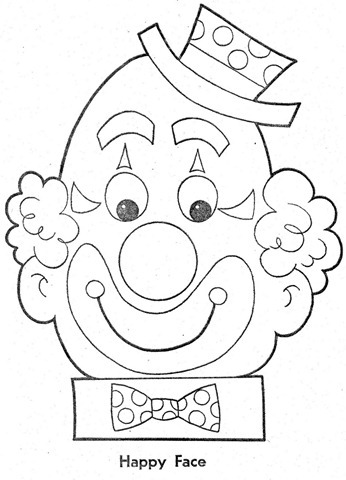 palhaço-colorir-Clowns To Color-coloring page-00005