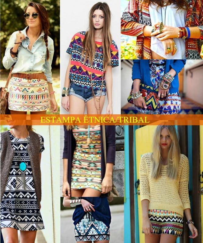 742b2a2cc Moda da Estampa Étnica (tribal) é tendência no Verão 2013. | Maria ...