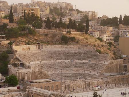 Obiective turistice Iordania: Amfiteatru Amman