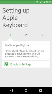Apple Keyboard Screenshot