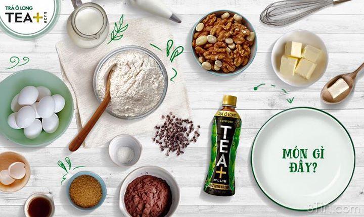 Tháng 12 nhẹ nhàng cùng TEA+ Plus và món bánh kem béo