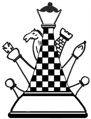 chess coloring pages | Chess Coloring Pages Sketch Coloring Page