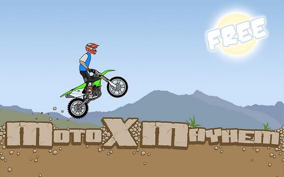 Moto X Mayhem Free APK screenshot thumbnail 1
