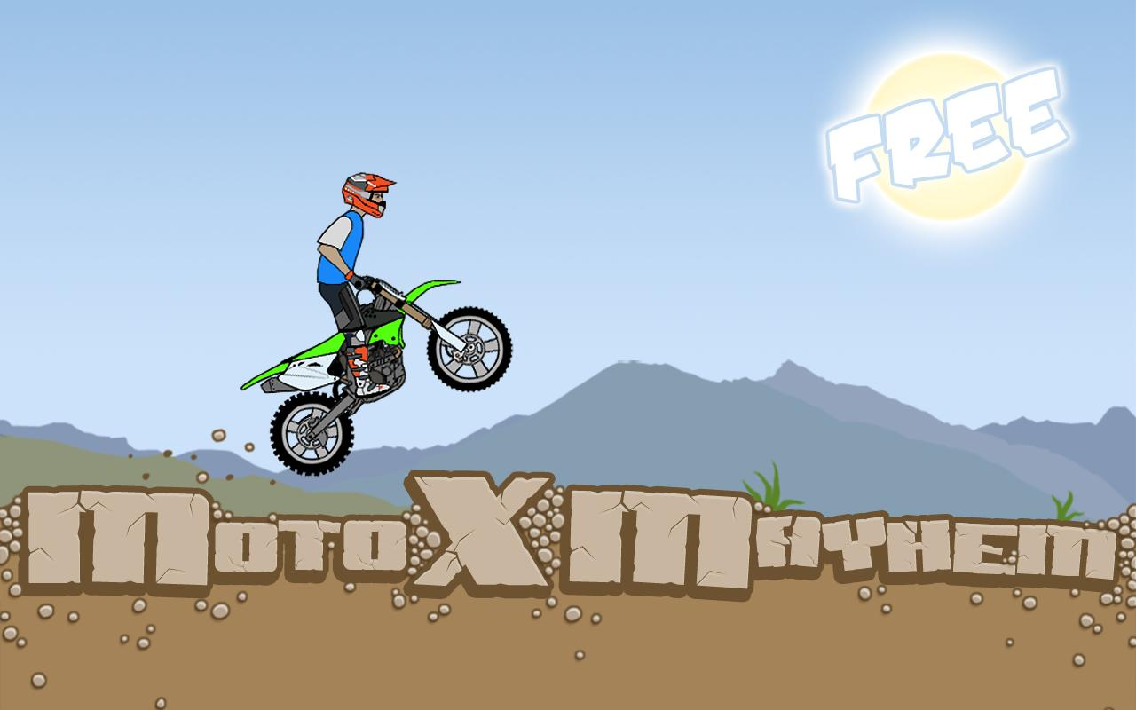 Moto X Mayhem Free- screenshot