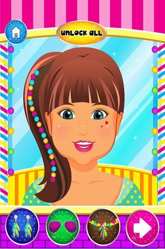 有趣的兒童美髮沙龍溫泉