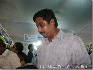 CBF Day 13 Photo 13 Stall No 372 Purchasing Tamil comics is no easy job