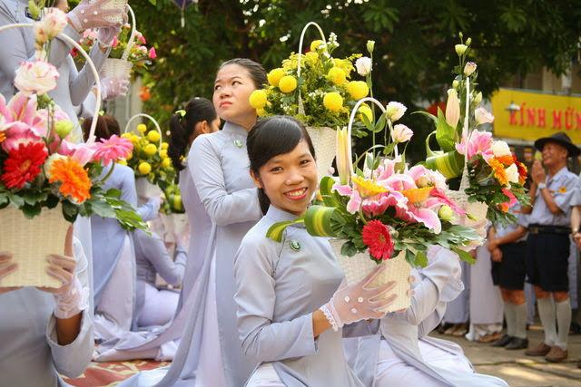 IMG 1865 Đại lễ Phật đản PL 2557 tại Tu viện Quảng Hương Già Lam