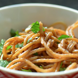 Quick and Easy Spicy Peanut Noodles