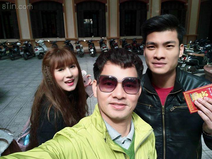 Cùng các sinh viên của tôi đây buổi học đầu năm mới.