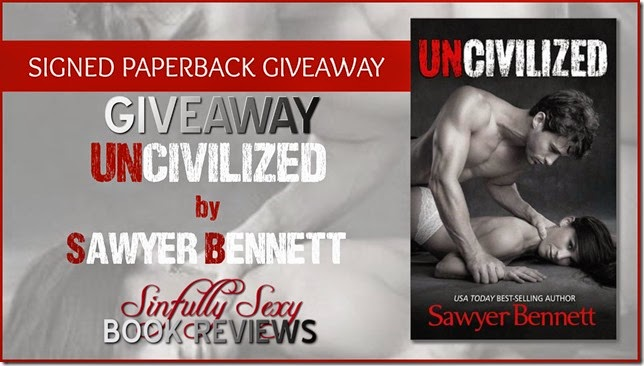 uncivilized paperback giveawy