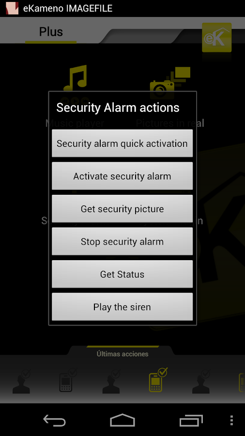 REMOTE IP Security Cam Alarm - screenshot