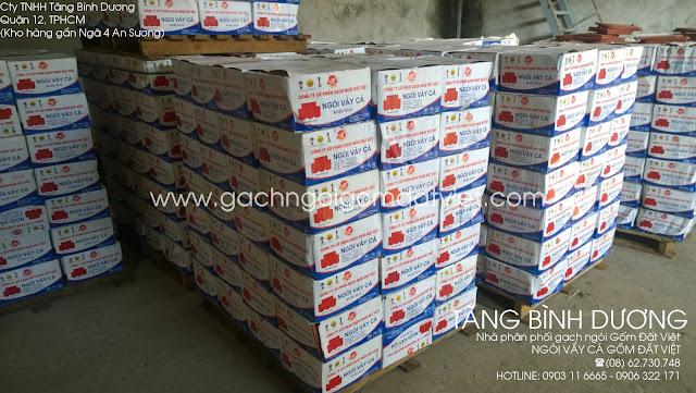 Ngói vẩy cá Gốm Đất Việt