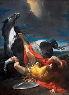 Conversion of Saul, Guido Reni, Escorial