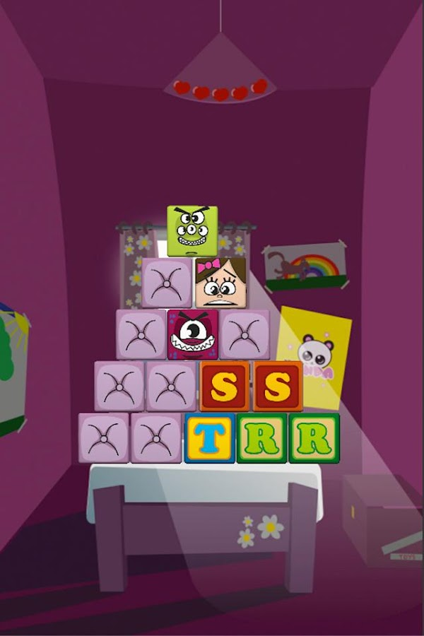 Bed Monsters Puzzle Game- screenshot