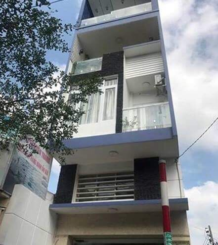 Bán nhà Mặt Tiền đường Lương Thế Vinh Quận Tân Phú, số 58, diện tích 4mx20m, 3.5 tấm, 01