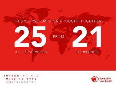 This year 25 blood services from across 21 countries came together in