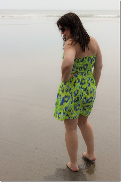 green beach dress_4364
