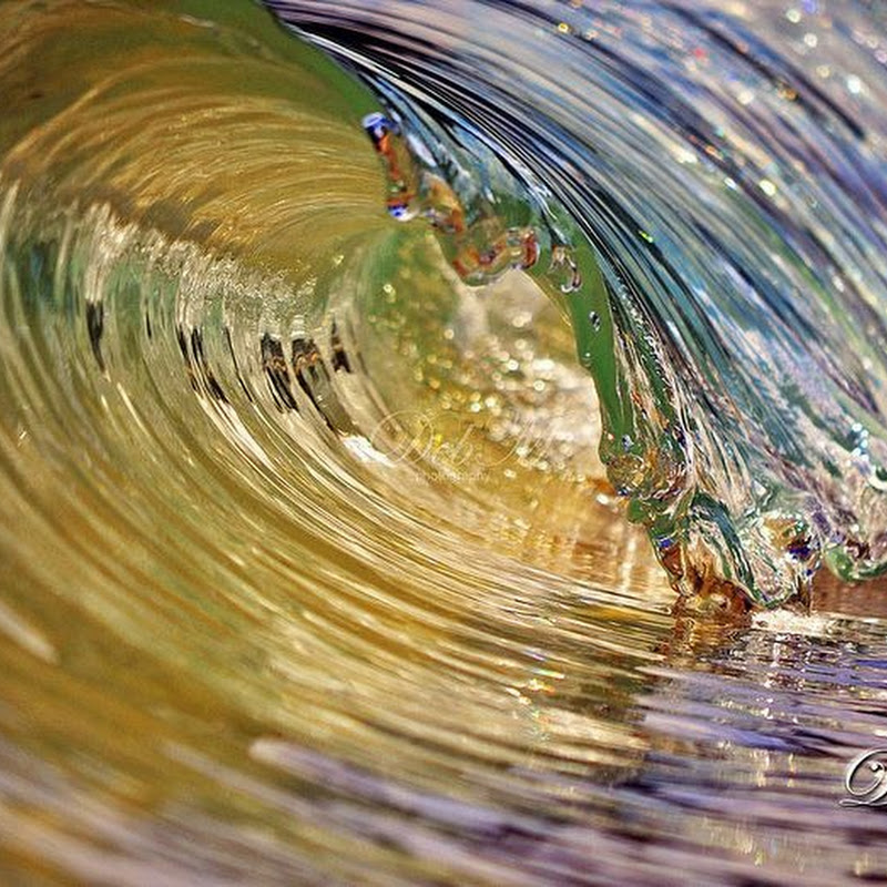 Photographs of Tiny Waves by Deb Morris