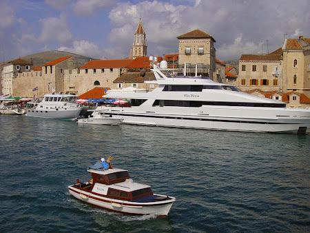 Imagini Croatia: Yahtul lui Ecclestone la Trogir
