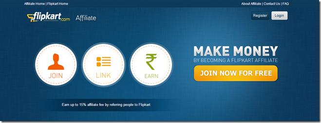 Flipkart affiliates