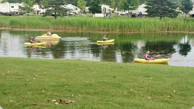 2014-08-05 Kayaking & Paddleboating