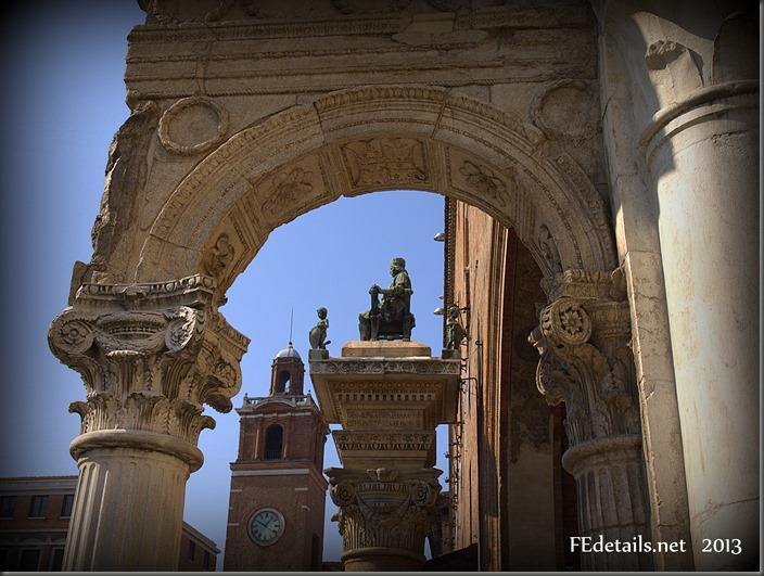 Borso e Nicolò III d'Este , Ferrara, Italy, photo1