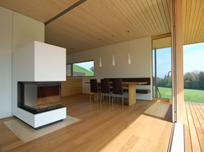arquitectura casa moderna de madera