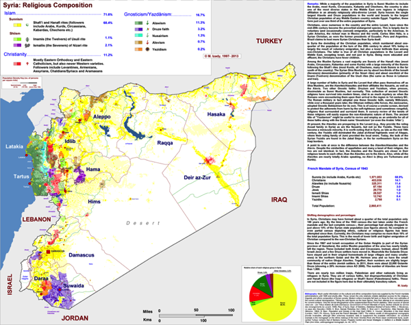 Syria Religion Detailed sm