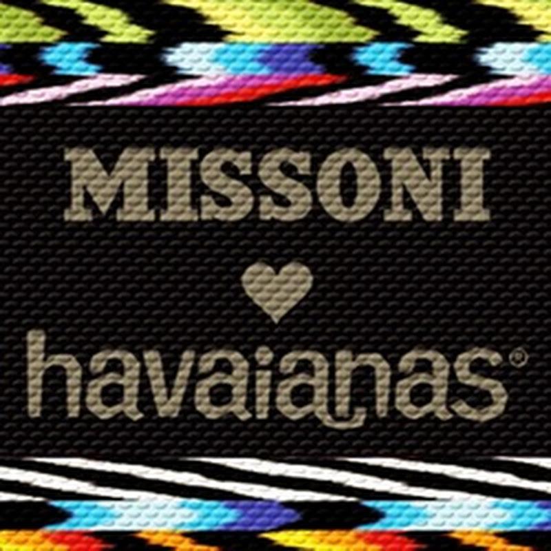 dc3324ecb8 Nova coleção Havaianas e Missoni chega às lojas em junho.