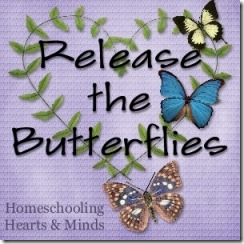 Release the Butterflies freebie at Homeschooling Hearts & Minds