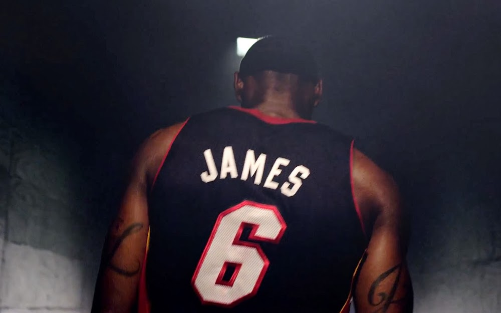 sale retailer 5394b daaae ... James Gears Up with LeBron 11 Away in Nike Basketball Video ...