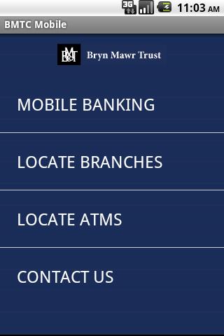 Bryn Mawr Trust Mobile Banking