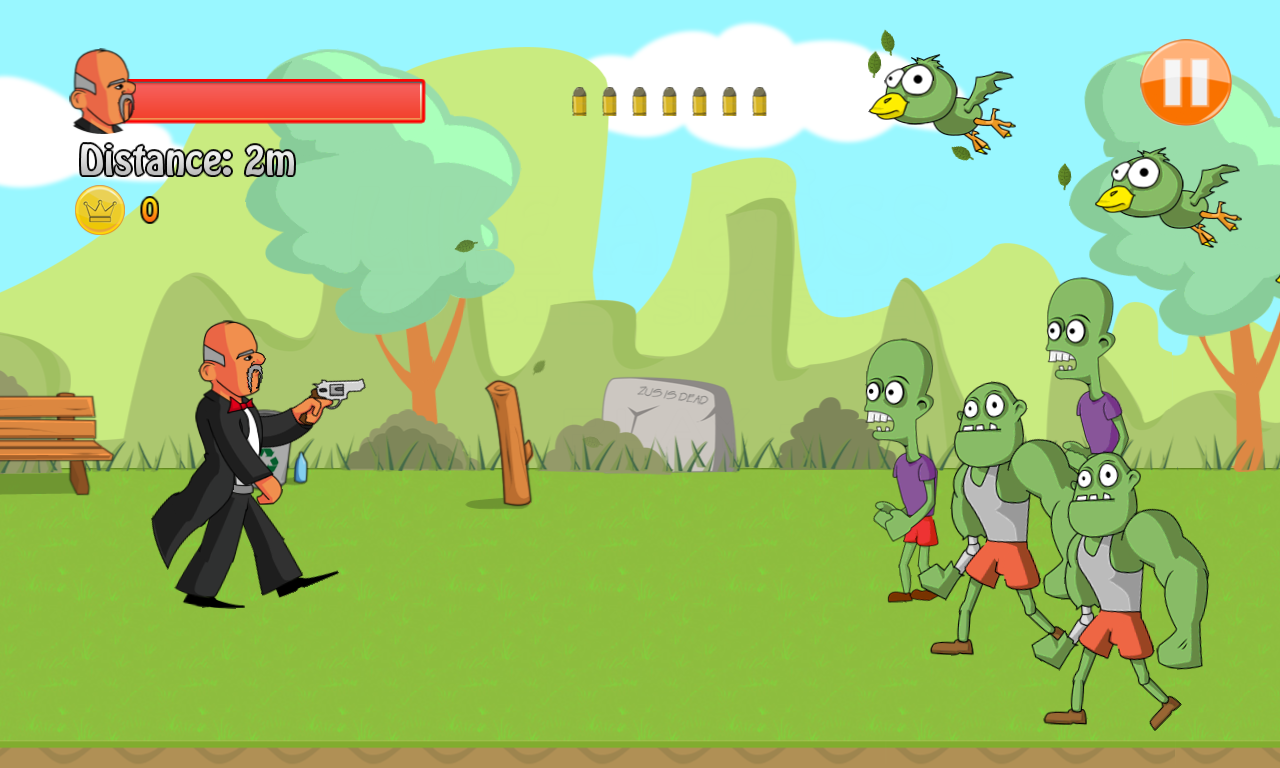 Korwin Boss - zombies smasher- screenshot
