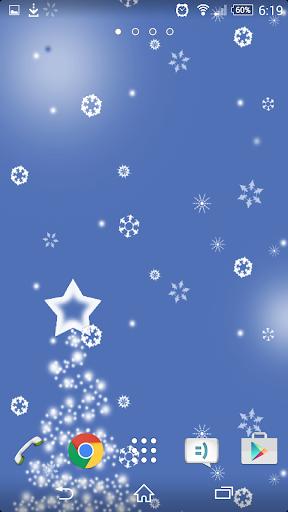 Christmas Snow LiveWallpaper