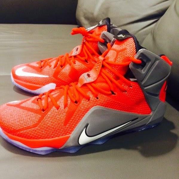 b1b573afe8f7 Ohio State Buckeyes Received Personalized Nike LeBron 12 Shoes ...
