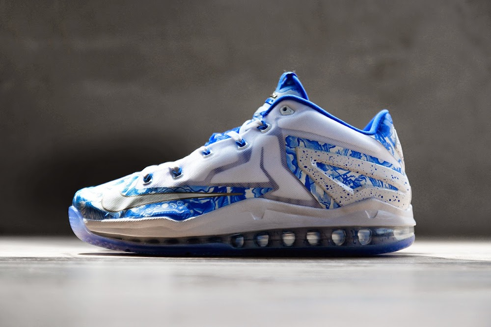 newest 9b047 3ed50 Nike LeBron 11 Max Low China Pack Blue   White   NIKE LEBRON - LeBron James  Shoes