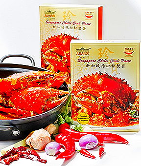JUMBO SEAFOOD SINGAPORE CHILLI CRAB PASTE RETAIL PACK