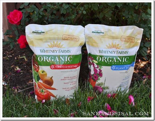 Whitney Farms Organic Fertilizer, organic gardening