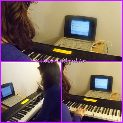 Turtlegirl Using PianoSuitePremier