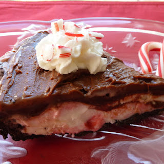 Peppermint Fudge Pie