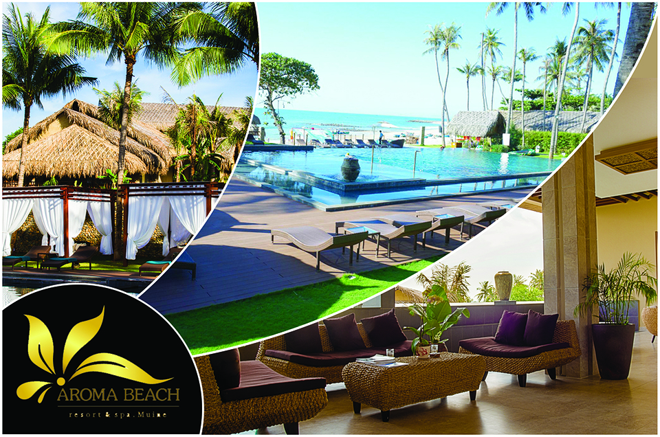 Aroma Beach Resort- Sự kết hợp của thiên nhiên và hiện đại
