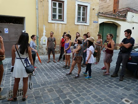 Turisti straini in Brasov
