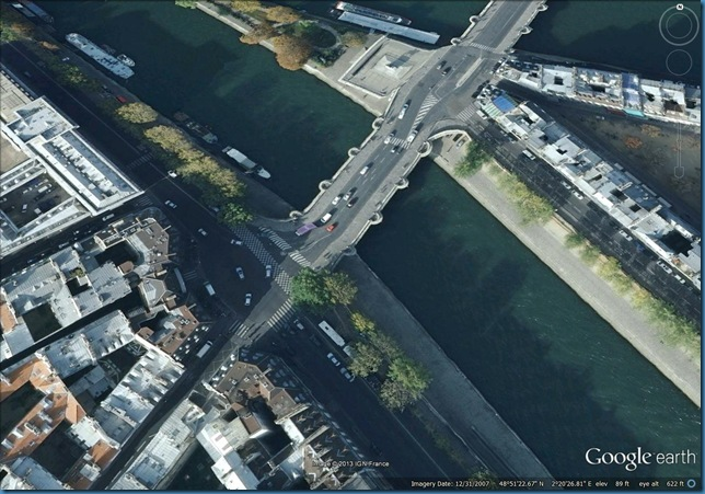 Google Earth Pont Neuf