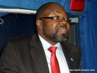 Hubert Kabasu Babu, Gouverneur du Kasaï occidental et président de l'Association des provinces de la RDC. Radio Okapi/Ph. Benjamin Litsani