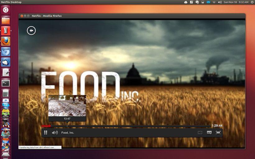 Netflix in Ubuntu