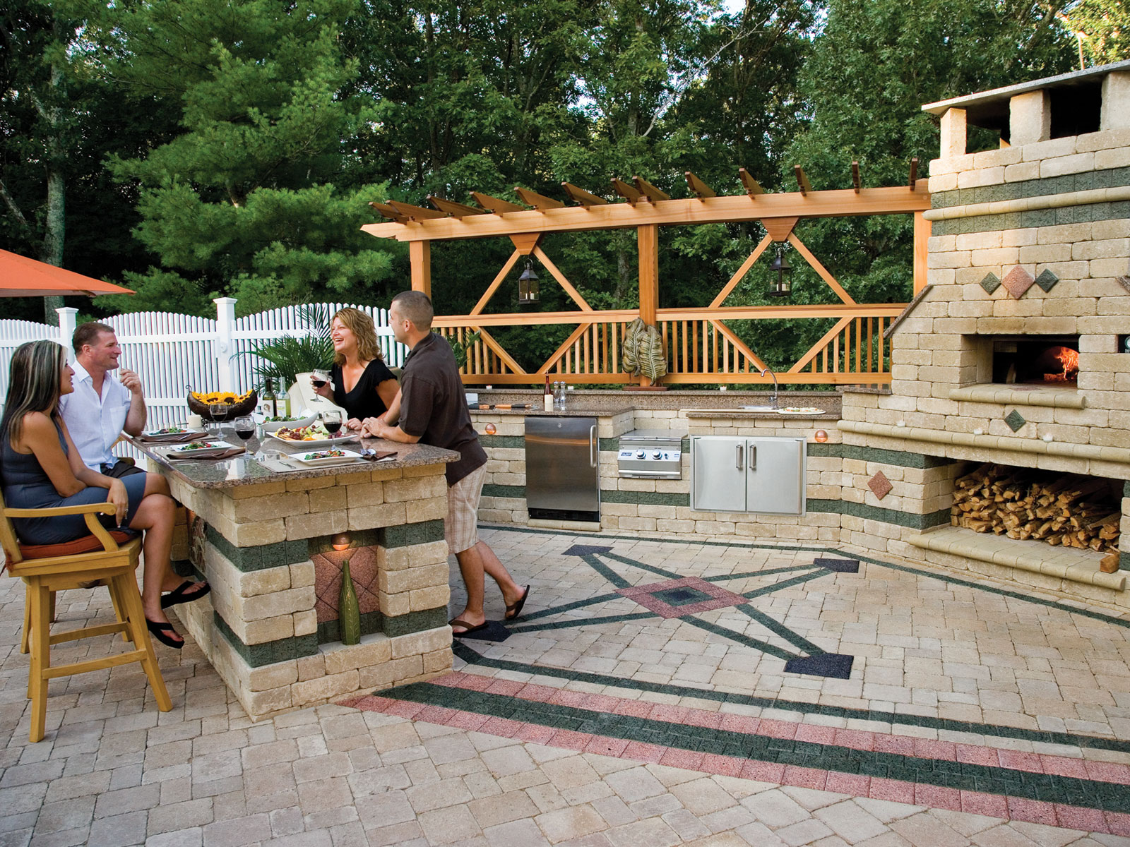 Island Outdoor Kitchen And Catering