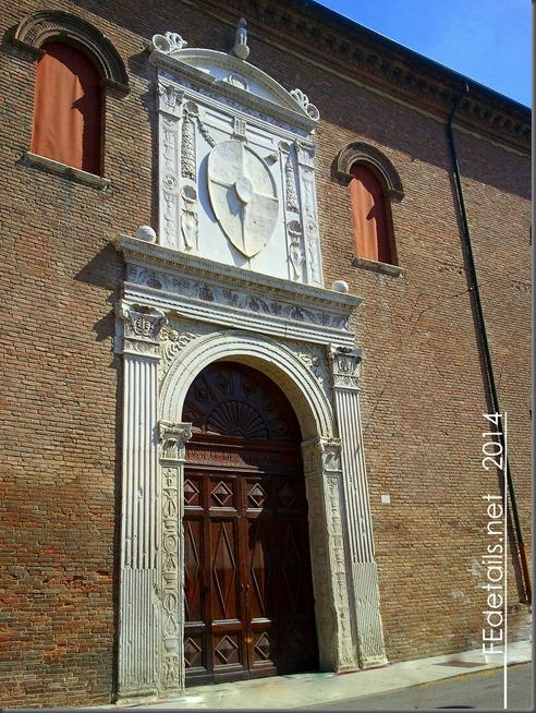 Portone Palazzo Schifanoia, Ferrara, Italy