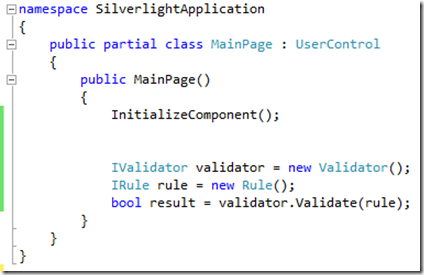 CommonCodeInSilverlight