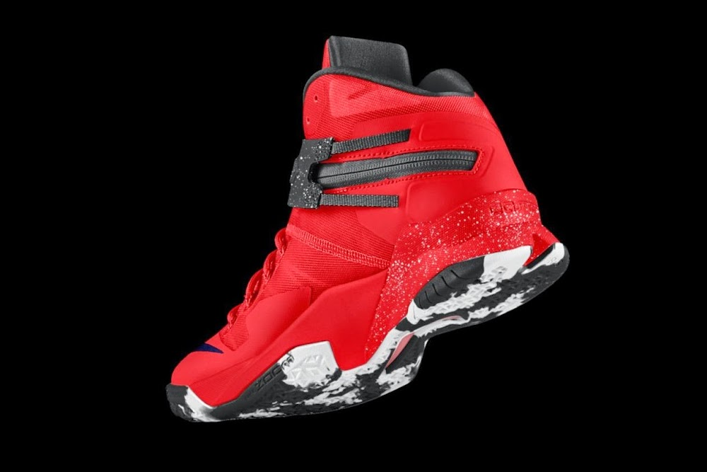 uk availability 4b521 ab849 ... Design Your Own Cleveland Cavaliers Soldier 88217s on NIKEiD ...