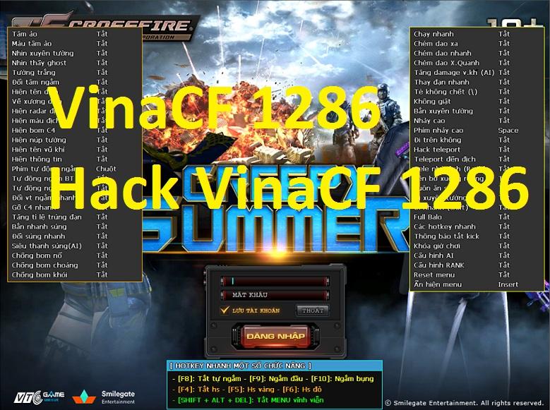 Hướng Dẫn Tải Về Hack VinaCF 1286 - ÁC QUỶ TRỖI DẬY:
